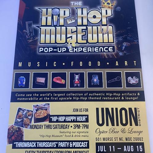 Commemorative Hip-Hop Museum Poster