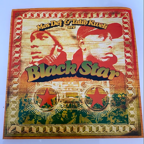 Rawkus Vintage Sticker (Black Star)