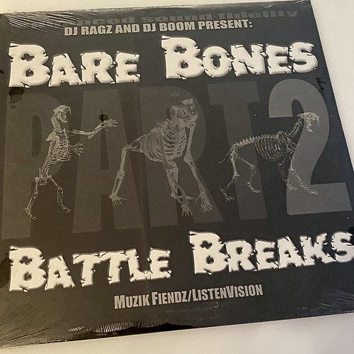 DJ BOOM – Bare Bones Battle Breaks Part 2 Vinyl
