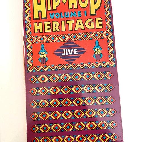 "RARE Sealed ""Hip-Hop Heritage"" Longbox CD"