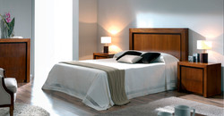 Dormitorio en Madera de Nogal