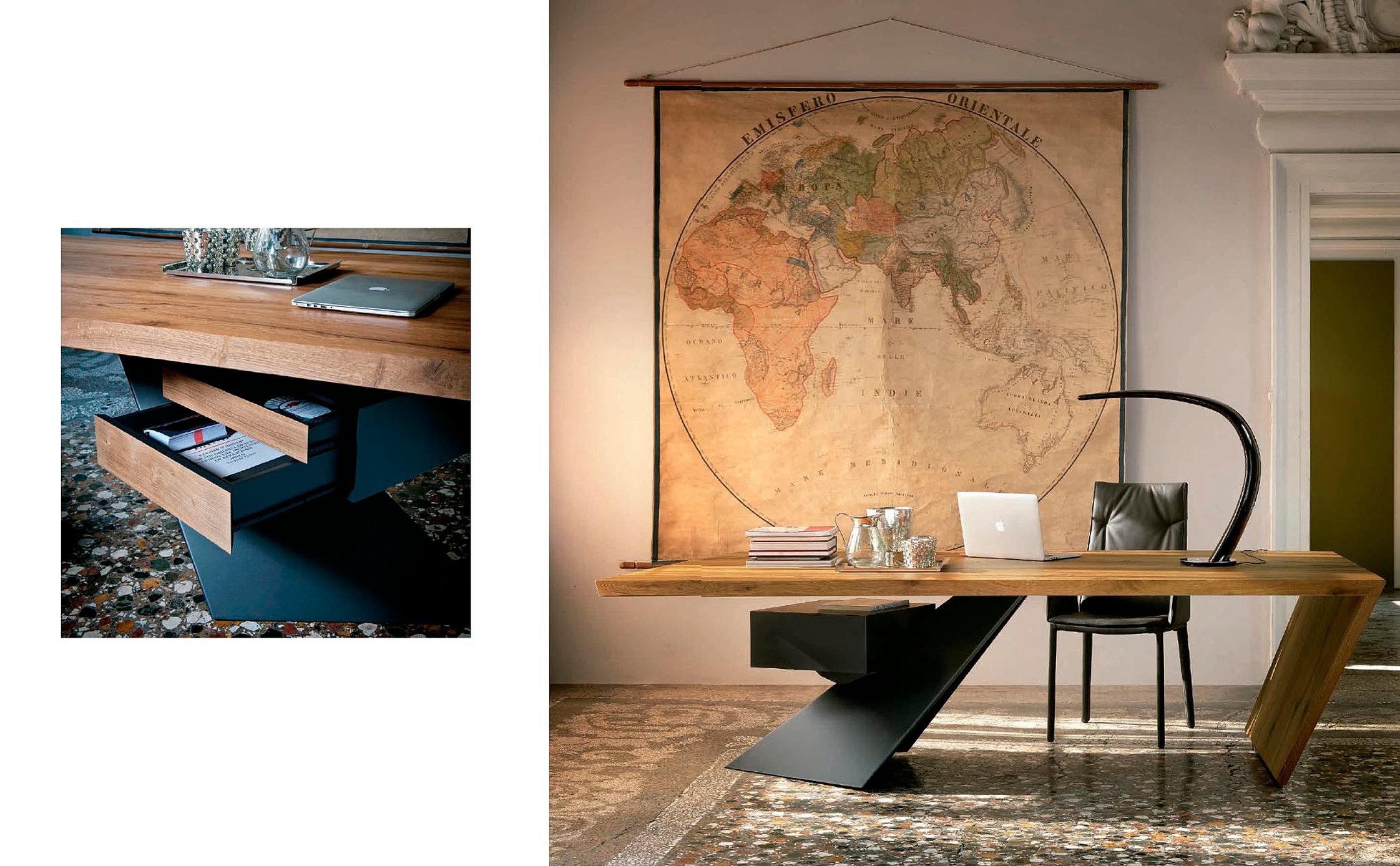 Despachos modernos muebles monen for Mesas de despacho modernas