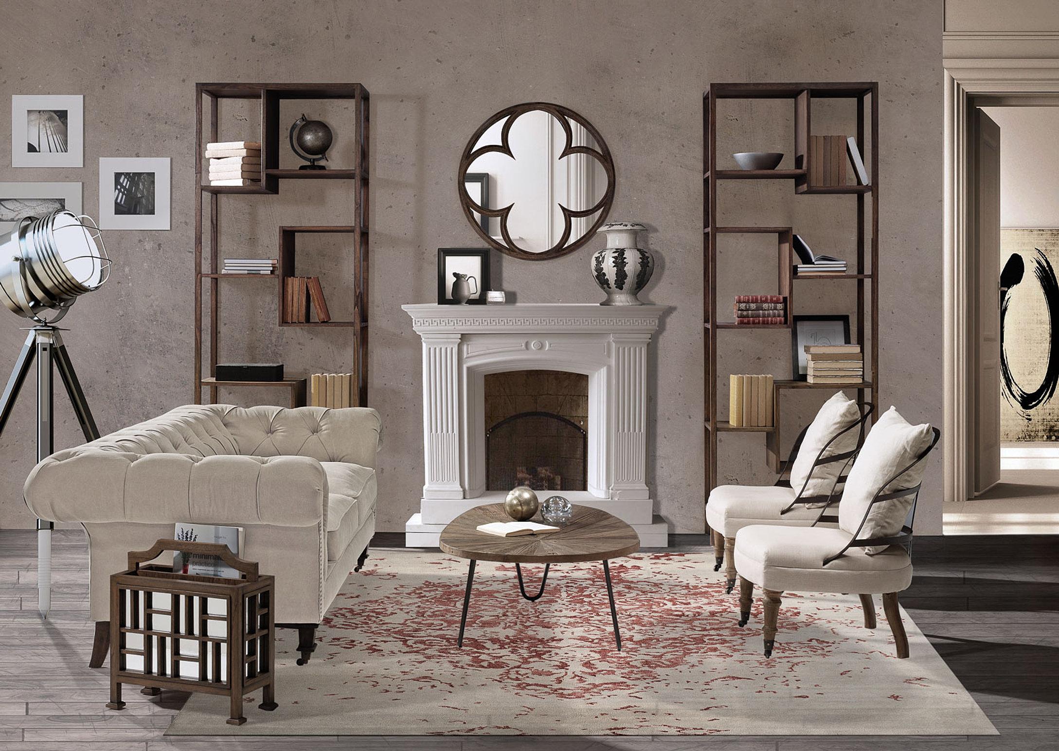 Muebles vintage industrial romantico - Muebles estilo romantico ...