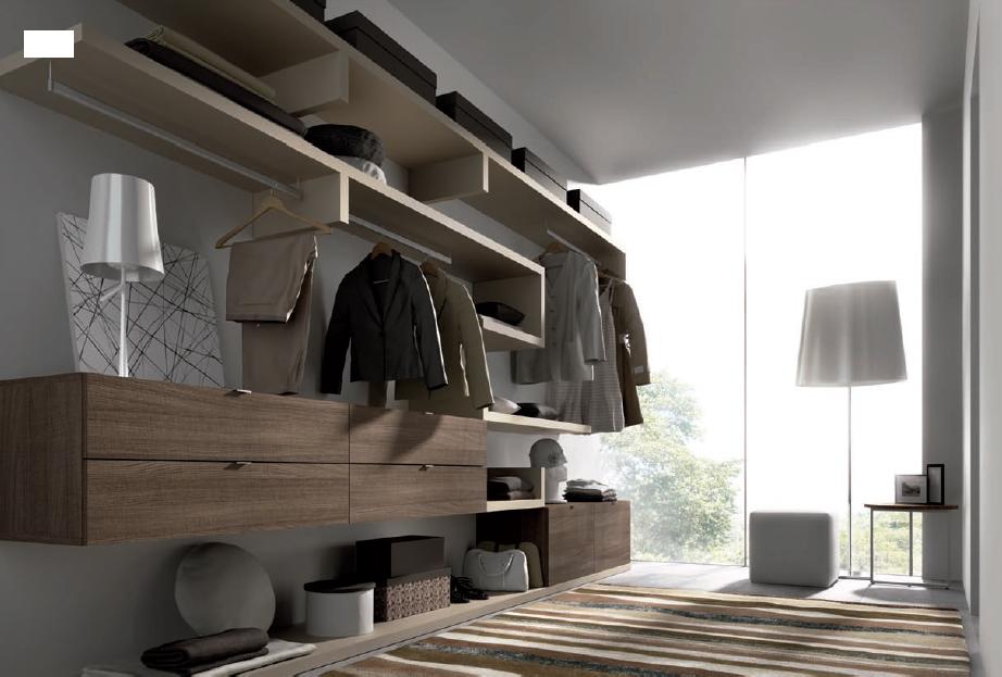 vestidor de estilo moderno