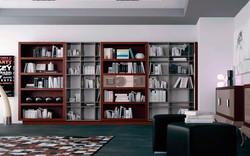 libreria estilo contemporaneo
