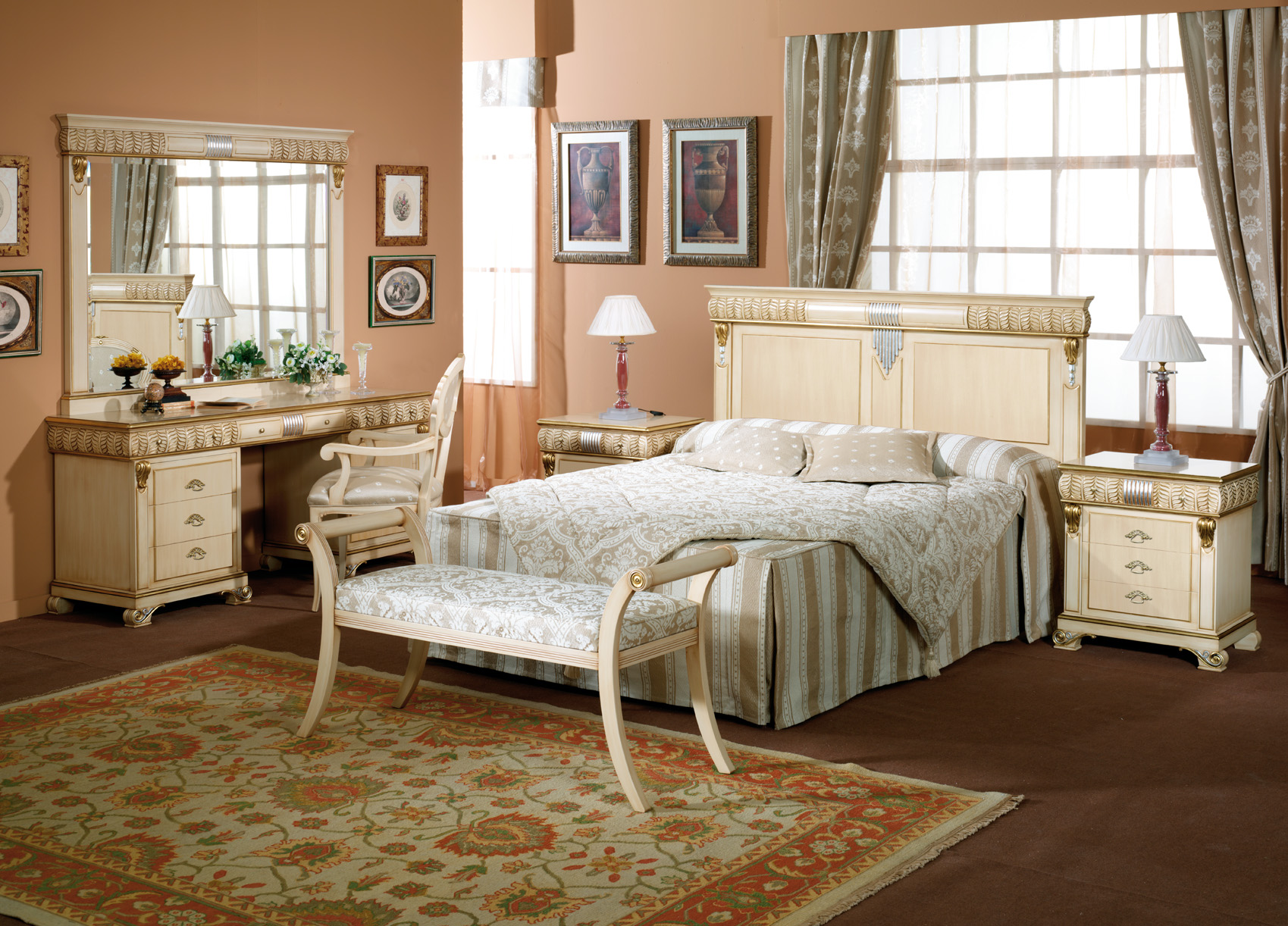 dormitorios de matrimonio de estilo clasico (52)