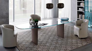 Mesa Moderna de Comedor MisuraEmme