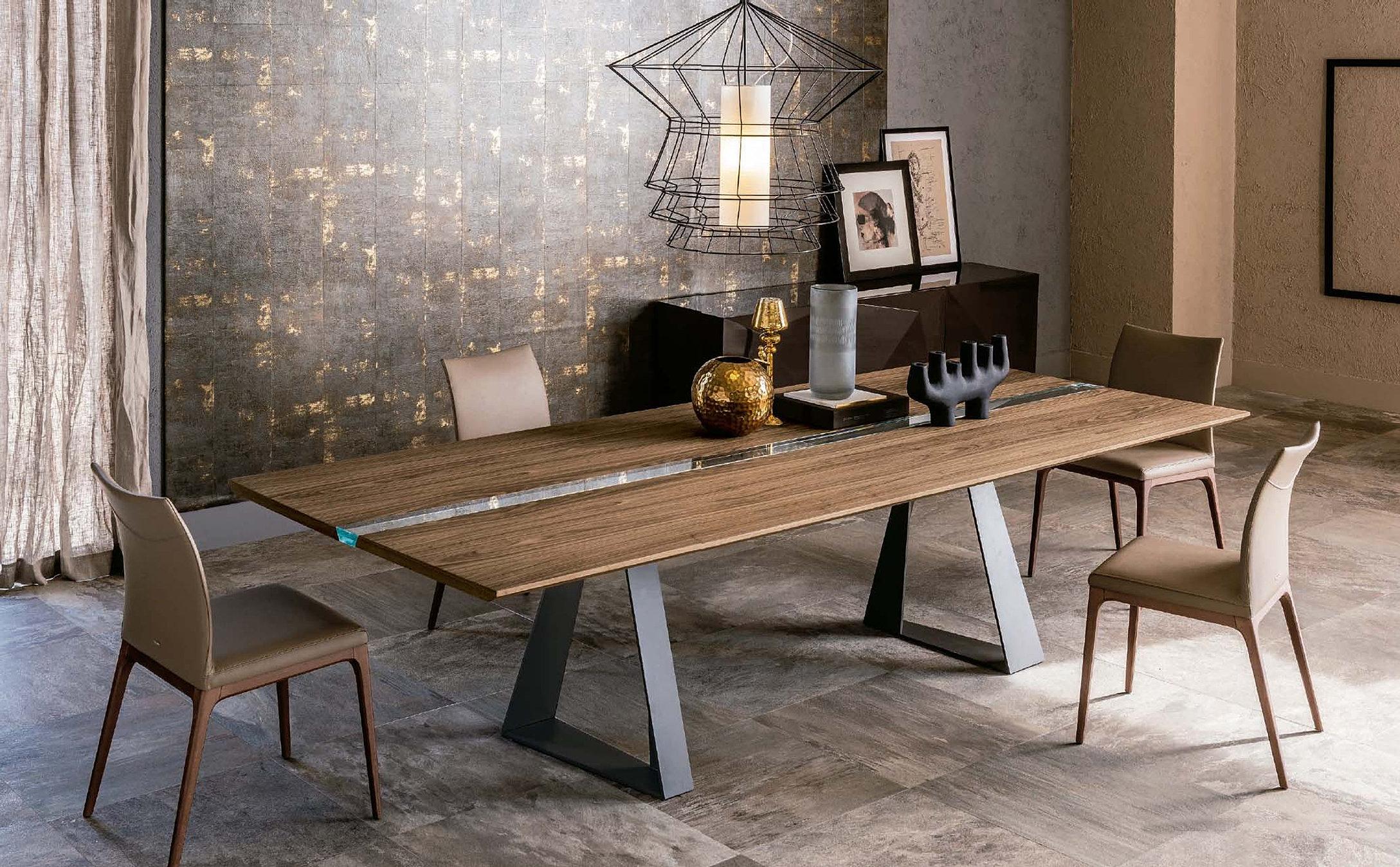 Mesas de comedor modernas muebles monen madrid Muebles nordicos madrid