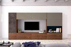 composición de salón moderna