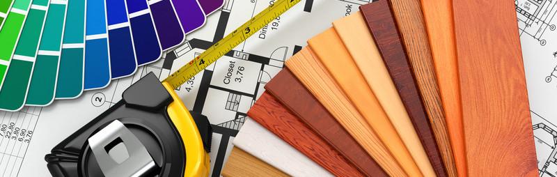 materiales para elección de mueble a medida , madera  , lacados