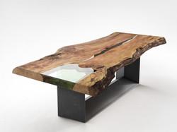 Mesa de tablero de Madera Maciza