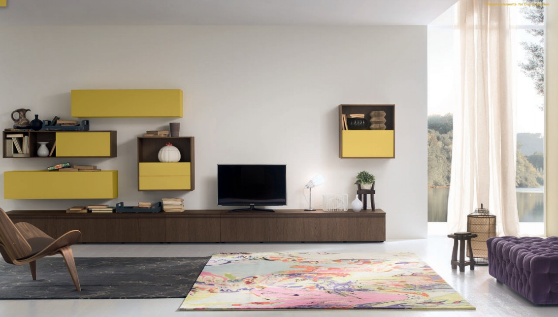 muebles de salon de estilo moderno (13)
