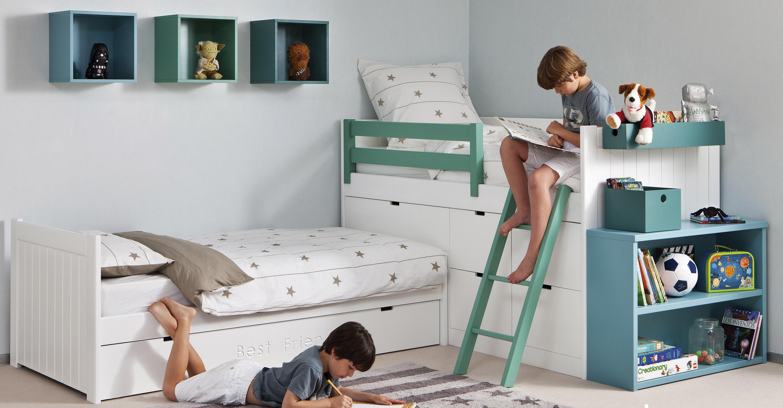 cama compacta para dormitorio