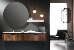 Mueble de Baño en Madera