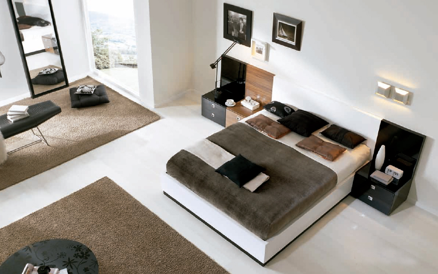 dormitorios de estilo moderno (8)