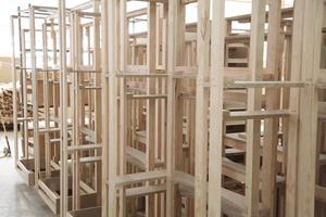 Estructuras de madera de Sofás