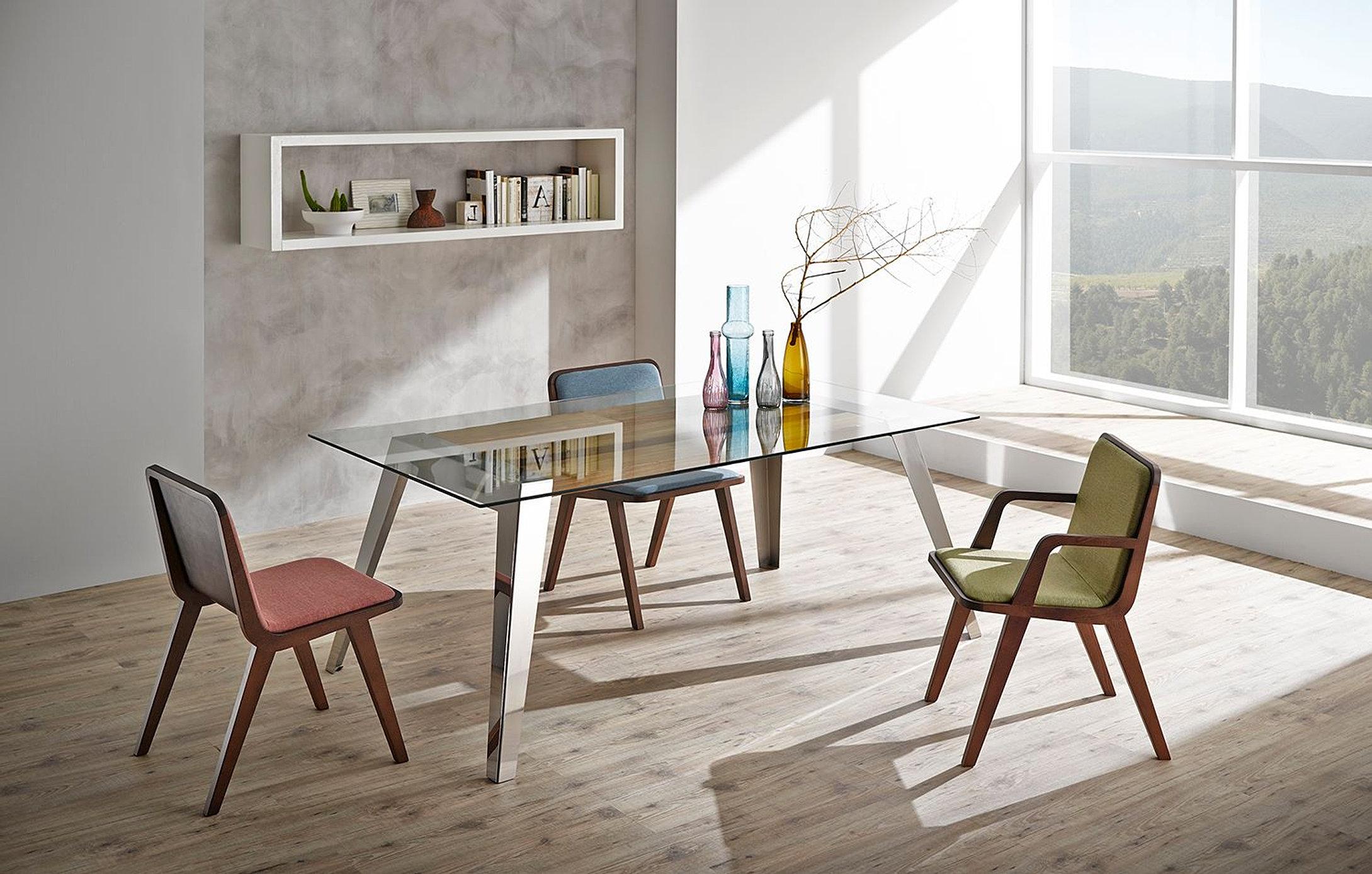 Mesas de comedor contempor neas tienda de muebles monen madrid - Mesas de comedor madrid ...