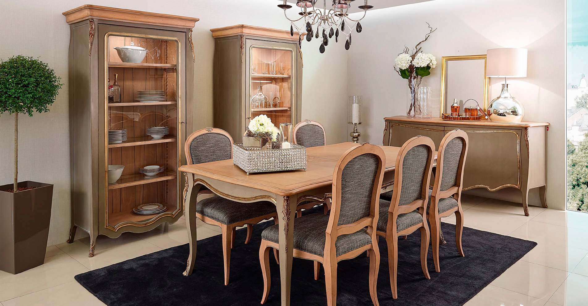 Tienda de muebles monen comedores clasicos madrid for Catalogo de comedores