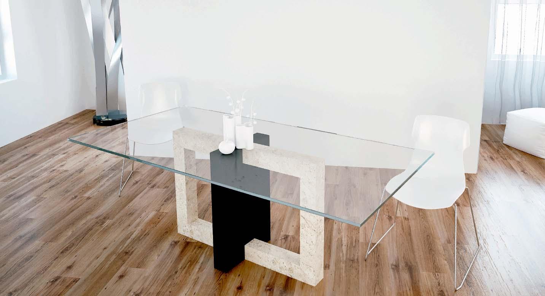 mesa de comedor de marmol