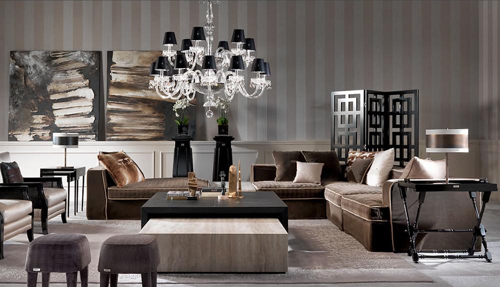 tienda de muebles de lujo
