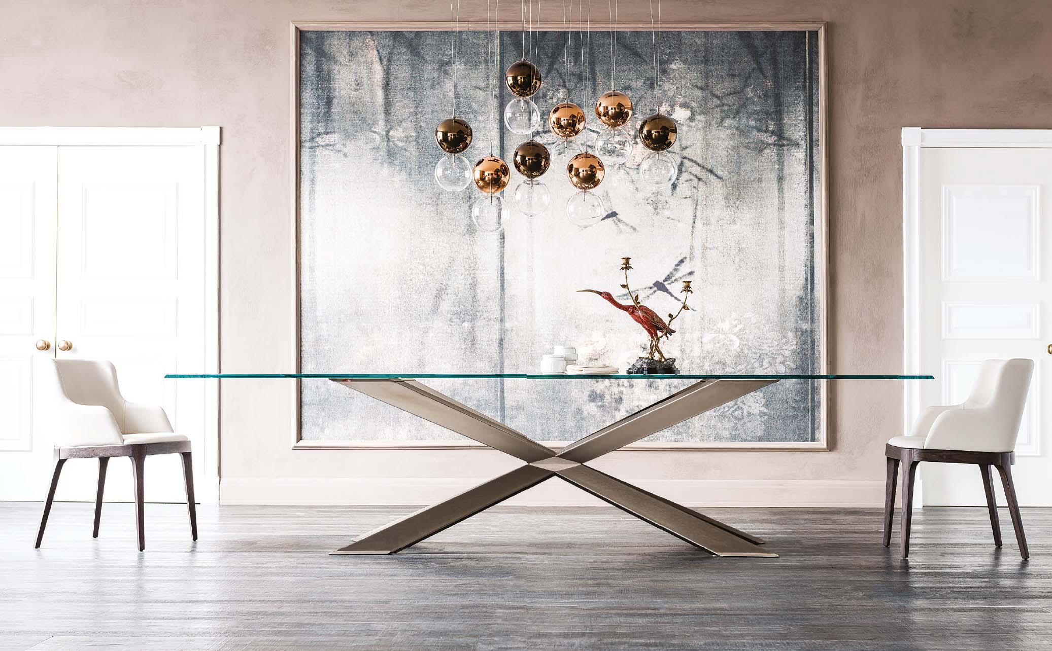 Mesas de Comedor de Cristal de Diseño - Muebles Monen