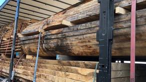 ¿Como fabricamos nuestros tableros para mesas de comedor  de madera maciza de una pieza ?