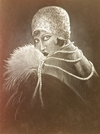 Portrait of a Woman from the Jazz Age