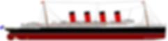 RMS Mauretania Elevation Drawing