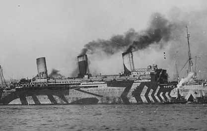 picture of SS Vaterland pulling into port