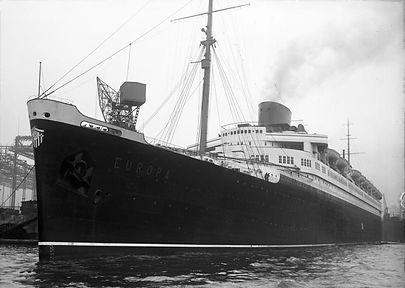 SS Europa steamship ocean liner
