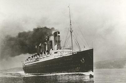 RMS Mauretania steamship ocean liner