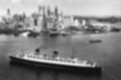RMS Queen Elizabeth steamship ocean liner