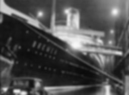 SS Bremen seaplane mail innovation steam ship ocean liner