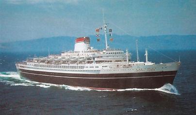 SS Andrea Doria steamship ocean liner cruise ship