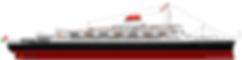 SS Andrea Doria Ocean Liner Elevation