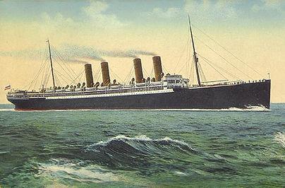 RMS Queen Mary steamship ocean liner
