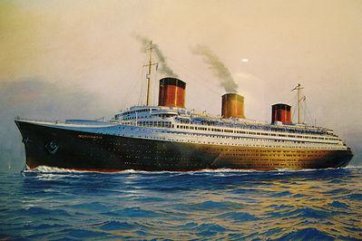 SS Normandie steamship ocean liner