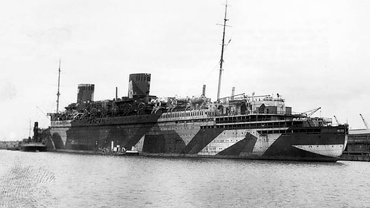 SS Bremen SS Europa docked in port ocean linr steamshp cruise ship