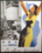 SS Rex SS Conte di Savoia Italian Line poster advertisement