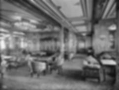 RMS Queen Mary Starboard Deck ocean liner steam ship