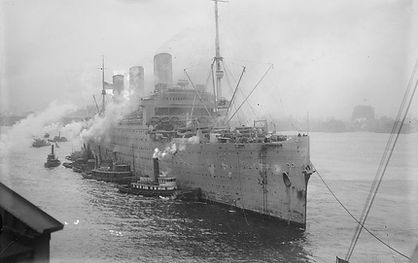 SS Leviathan shortly after WWI