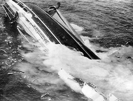 SS Andrea Doria capsized propeller