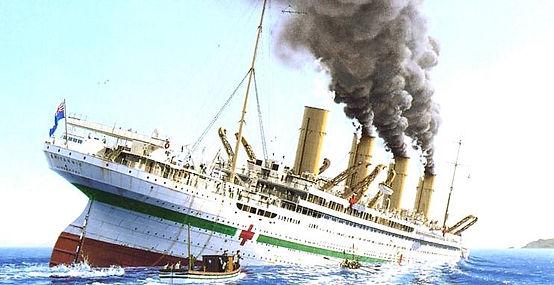 HMHS Brittanic sinking