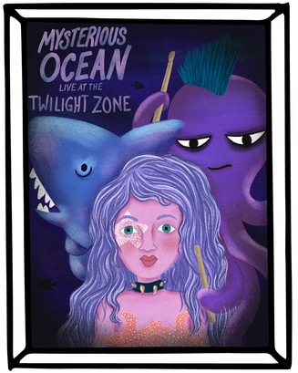 ROCK STAR / MYSTERIOUS OCEAN / TWILIGHT ZONE & HYDROTHERMAL VENTS