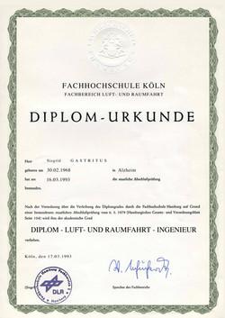 DIPLOM-URKUNDE