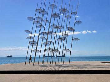 Thessaloniki-Regenschirme