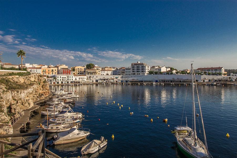 Menorca-Hafen