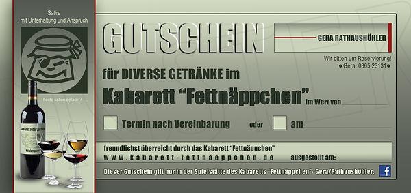 GUTSCHEIN-GASTRONOMIE GERA-RATHAUSHÖHLER