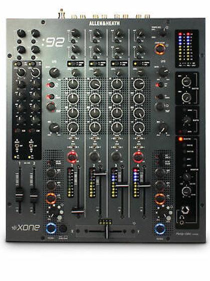 Allen & Heath Xone:92 4ch DJ Mixer