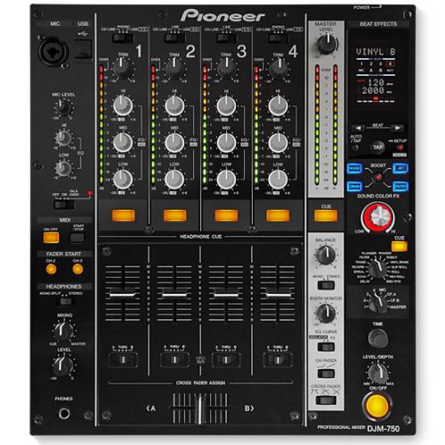 Pioneer DJM 750 4ch DJ Mixer